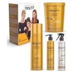 Kit Hidratação Trivitt Profissional 4 Itens