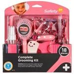 Kit Higiene Beleza Rosa 18 Peças para Bebê Safety 1st S174ih