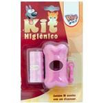 Kit Higiênico para Coleiras Cata Caca Coco Formato Ossinho