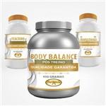Kit Hipertrofia Laxogenina + Body Balance + Teacrine Ganho de Massa e Energia