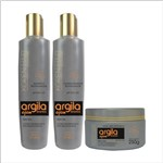 Kit Home Care Argila Branca & Ojon Kopen Hair
