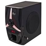Kit Home Theater 5.1 125w Rms Bluetooth Subwoofer Radio Portatil Digital Usb Sd Fm Bivolt