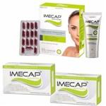 Kit Imecap Rejuvenescedor com Creme Antirrugas Facial 35g + 30 Cápsulas