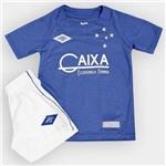 Kit Infantil Cruzeiro Umbro Oficial 3 2016