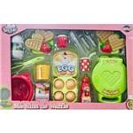 Kit Infantil Máquina de Waffle com Acessórios Tá na Mesa Toyng