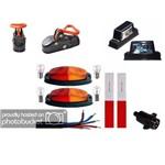 Kit Instalação Lanterna para Carretinha Reboque Engate