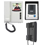 Kit Interfone Residencial HDL com Câmera Classic S Infravermelho + Extensão de Áudio AZ-S01