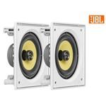 Kit JBL Caixa Som Ambiente Arandela Branca 2 CI6S - 240 WRMS