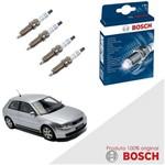 Kit Jogo Velas Original Bosch A3 1.6 Gas 99-06