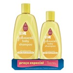 Kit Johnsons Baby Shampoo 400ml + Shampoo 200ml