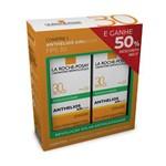 Kit La Roche-Posay Protetor Solar Antioleosidade Anthelios Airlicium Fps 30 Gel-Creme