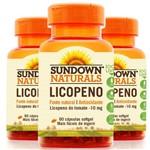 Kit 3 Licopeno 10mg Lycopene Sundown 60 Cápsulas