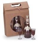 Kit Licor de Chocolate Weber Haus 375ml + 2 Cálices