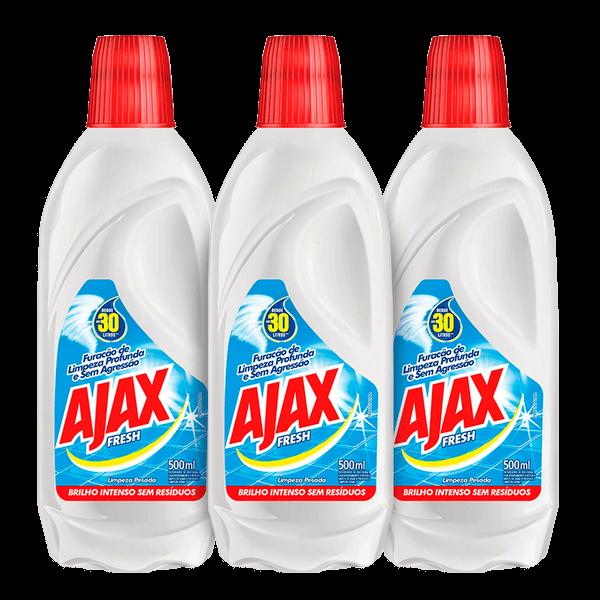 Kit Limpador Ajax Fresh