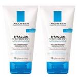 Kit Limpeza Facial La Roche-Posay Effaclar Gel Concentrado 150g C/ 2 Unidades