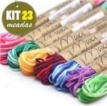 Kit Linha Maxi Mouline 23 Cores - Mesclado