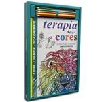Kit Livro para Colorir - Terapia das Cores