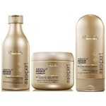Kit Loreal Absolut Lipidium Shampoo 250ml+ Condicionador 150ml+ Máscara 200g
