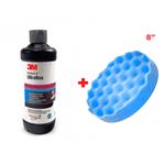 "Kit 3M Ultrafina + Boina de Espuma Azul 8"""