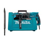 Kit Martelete Combinado 24mm SDS Plus 800W HR2470 + Ponteira D-08713 Makita
