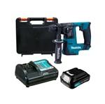 Kit Martelete Rotativo Rompedor 14mm+Bateria BL1016+Carregador Max-DC10WD+Maleta