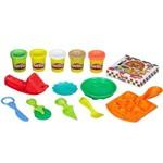 Kit Massas de Modelar - Play-doh - Festa das Massas - Fazendo Macarrão e Pizzas - Hasbro