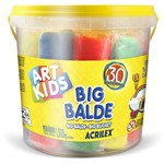 Kit Massinha Big Balde Acrilex