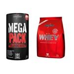 Kit Mega Pack 30 Packs + Nutri Whey 907 Gr