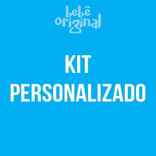 Kit Mêsversário Personalizado com Nome 12 Bodies, 100% Algodão- Modelo Personalizado