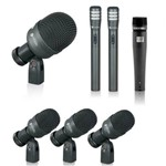 Kit Microfones para Bateria K7 Slim (7 Peças) - Kadosh