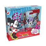 Kit Minnie Mouse Cachos Mais Perfeitos - Sh + Cond + Adesivo