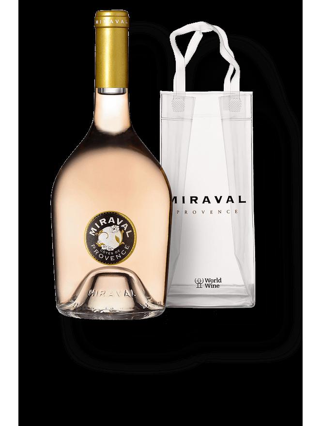 Kit Miraval Rosé + Icebag Miraval
