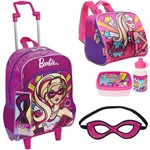Kit Mochila Barbie Power Super Princesas , Lancheira Sestini
