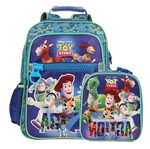 Kit Mochila de Costas + Lancheira + Toy Story With Electrifying Action - Dermiwil G