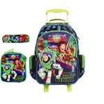 Kit Mochila Escolar Toy Story G Estojo Lancheira Dermiwil 30446