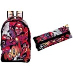 Kit Mochila + Estojo Avengers - 8070 e 8071 Xeryus