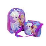 Kit Mochila G de Costa com Lancheira Frozen Disney DMW 30303