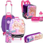 Kit Mochila Tipo Mala Barbie Barbie Rock N Royals Sestini