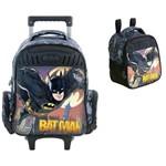 Kit Mochilete+ Lancheira Batman Gotham Xeryus G-7590