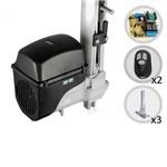 Kit Motor de Portão Eletrônico Basculante Taurus Soft RCG + 03 Suportes 056049 / 056053 056049/056053