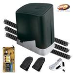Kit Motor de Portão Eletrônico Deslizante PPA Dz Home 1/4Hp