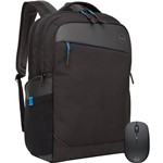 "Kit Mouse Wireless WM126 + Mochila Professional 15,6"" - Dell"