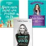 Kit Mulher Abençoada - 3 Livros Deixe-me Apresentar Você + Nada Pode Calar uma Mulher de Fé + Mais Linda em 40 Dias