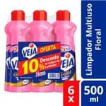 Kit Multiuso Floral Veja 6X500ml 10% de Desconto