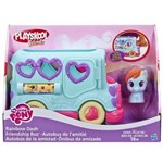 Kit My Little Pony - Pinkie Pie com Rodas e Ônibus Rainbow Dash - Hasbro