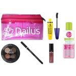 Kit Necessaire com Maquiagem Essencial Dailus Color