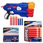 Kit Nerf - Lançador N-Strike Elite Dual-Strike - Hasbro