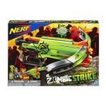 Kit Nerf - Lançador Zombie Strike - Crossfire + Refil 12 Dardos de Sucção - Hasbro