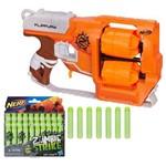 Kit Nerf - Lançador Zombie Strike Flipfury Dirtydozen + Refil