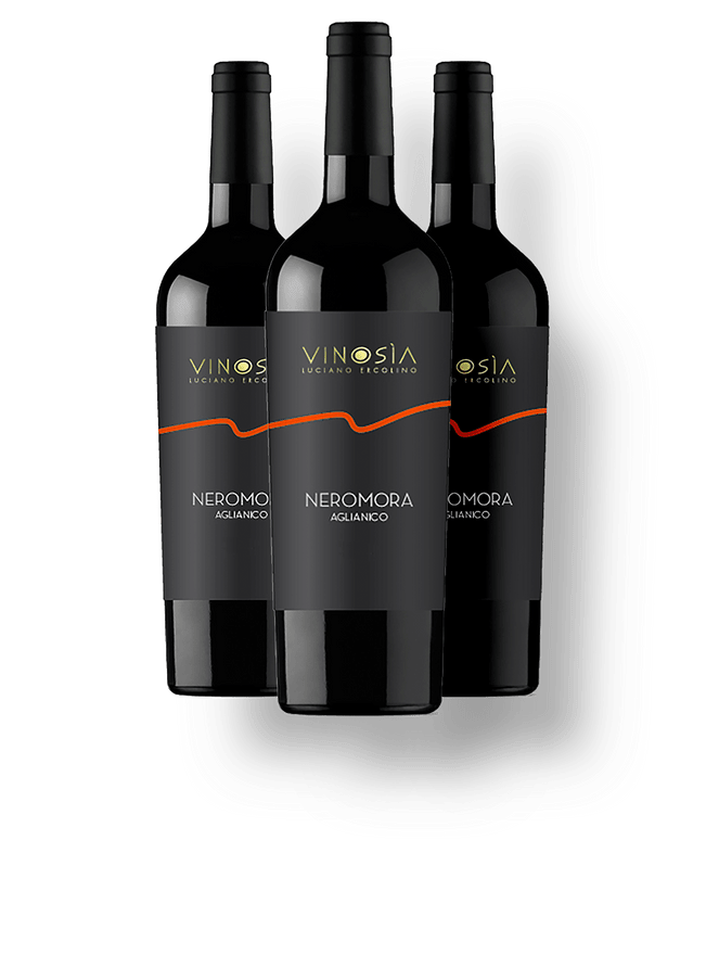 Kit 3 Neromora Aglianico DOC